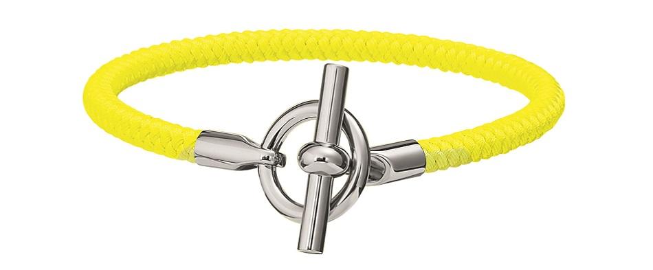 Bracelet in braided textile - SS21 Objets - Hermes  Studio des Fleurs.jpg