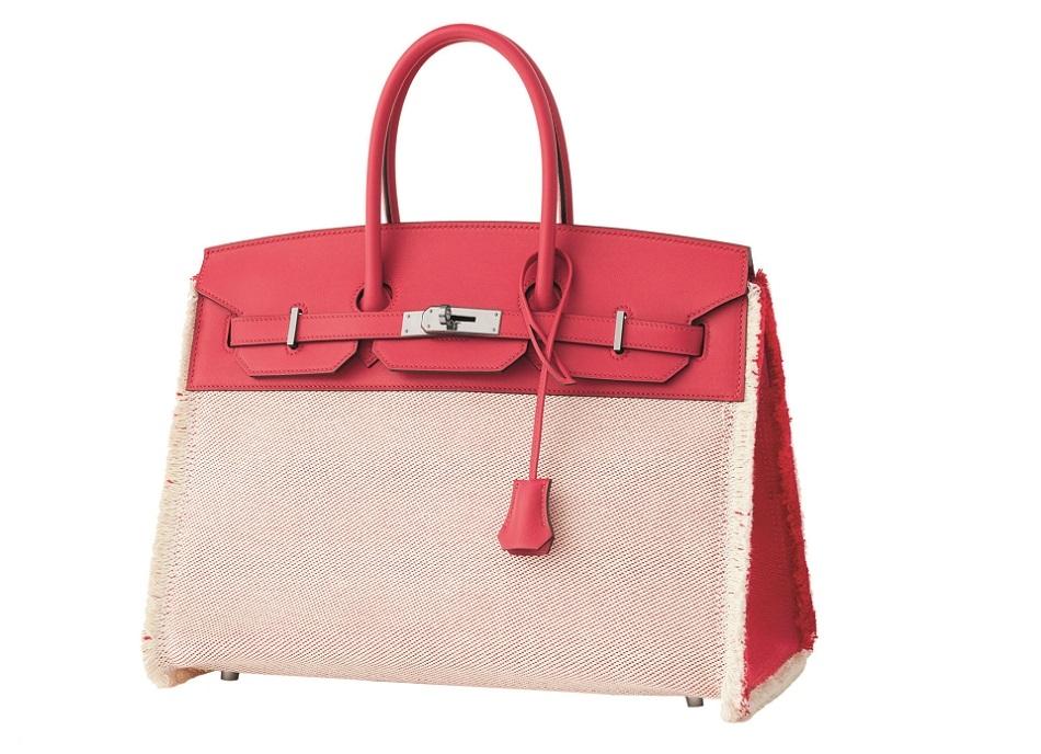 Birkin 35 Fray Fray bag in H twill canvas and Swift calfskin - SS21 Objets - Hermes  Studio des Fleurs.jpg