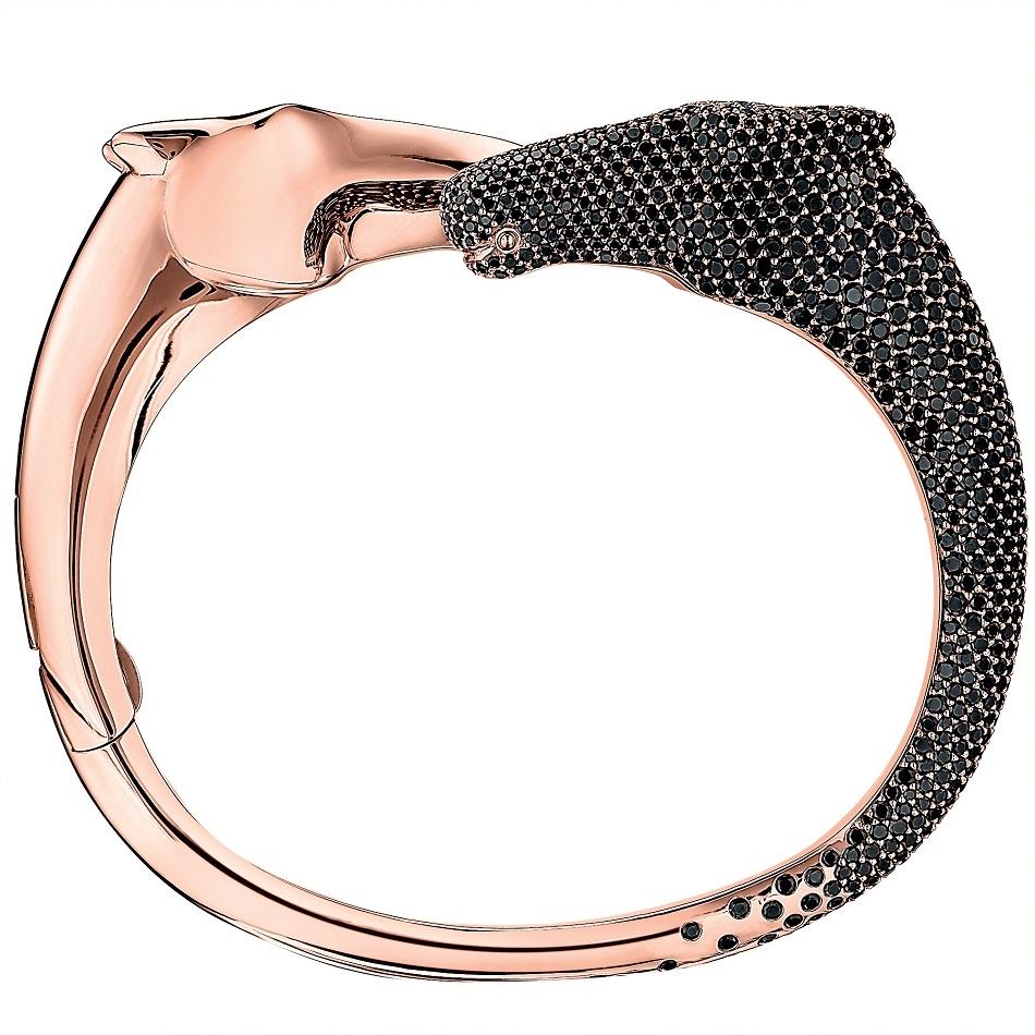 68. Galop bracelet in rose gold and black spinels.jpg