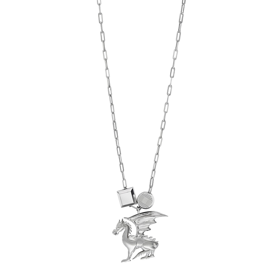 47. Pendant in brushed palladium-finish silvered metal.jpg