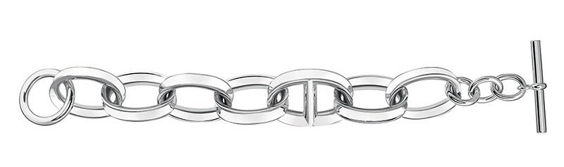 70. Hermes Reponse_Bracelet in silver.jpg