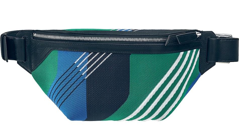12. Cityslide cross Dynamo bum bag in tech knit and allegretto calfskin.jpg