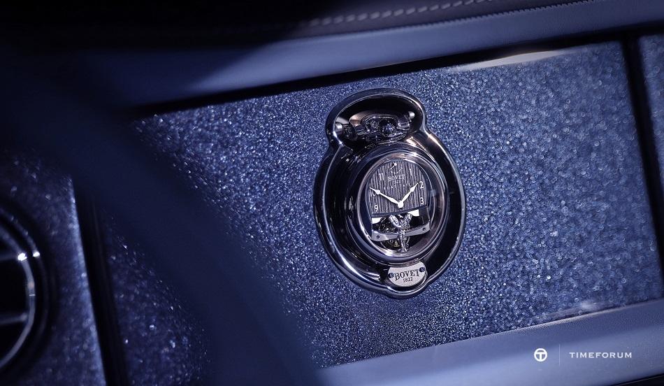 Bespoke timepiece on the dashboard.jpg