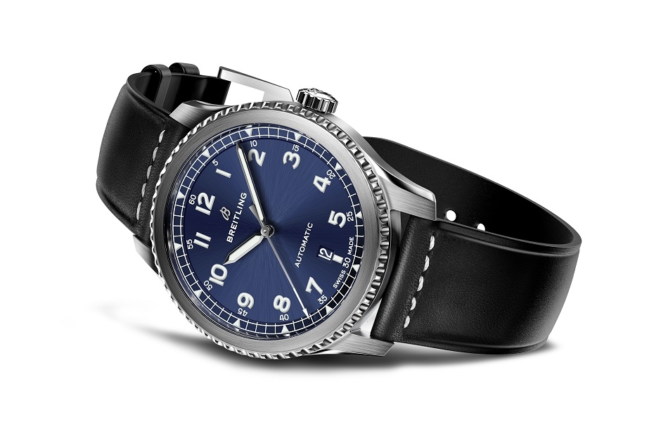 Navitimer 8 Automatic with blue dial and black leather strap.jpg