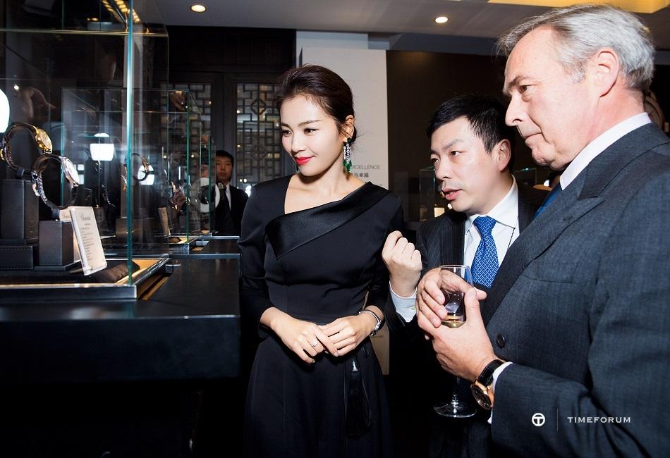 017 - Chopard Friend of Brand and popular actress Liu Tao wearing L.U.C XP watch.jpg
