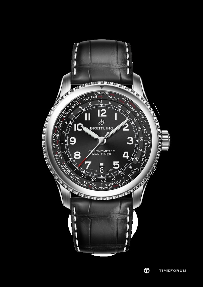 Navitimer 8 B35 Automatic Unitime 43 with black dial and black alligator leather strap.jpg