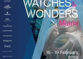 2018년 2월, 워치스 앤 원더스 마이애미(Watches & Wonders Miami) 개최 확정