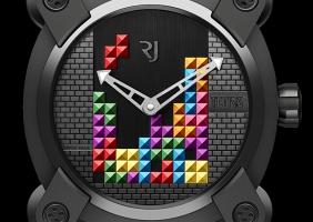로맹 제롬의 새로운 스트랩 모델 - 테트리스 DNA & 팩맨 레벨 II