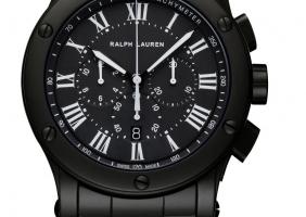 Ralph Lauren 의 새로운 스포츠 시계