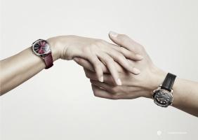 오메가의 밸런타인 데이 컬렉션