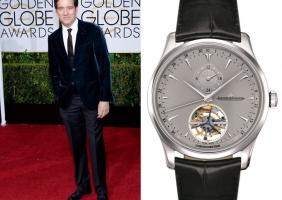 제72회 골든 글로브 시상식을 빛낸 스타와 예거 르쿨트르 시계