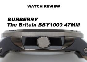 버버리 더 브리튼 BBY1000 47MM 오토매틱 파워리저브 워치