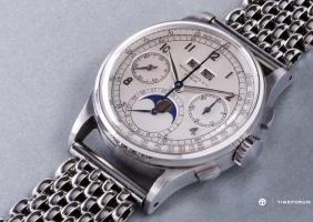 파텍 필립 Ref. 1518 스틸 모델, 세계 손목시계 경매 역대 최고가 신기록 수립
