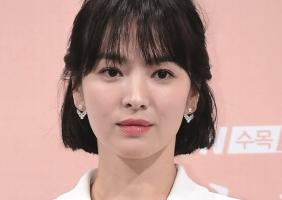 쇼메의 홍보대사가 된 배우 송혜교