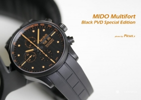 MIDO Multifort Black PVD Special Edition 리뷰