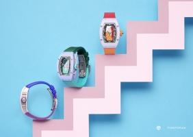 리차드 밀 RM 07-01 컬러 세라믹 캡슐 컬렉션