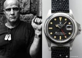 말론 브란도의 롤렉스 시계 경매에 나온다!
