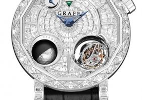 그라프의 다이아몬드 마스터그라프 스트럭춰럴 투르비용 스켈레톤