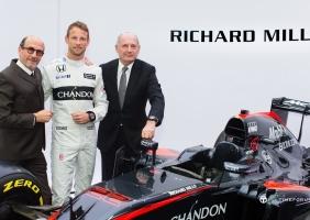 리차드 밀, 하스 F1 팀 & 맥라렌-혼다 F1 팀과 연달아 파트너십 체결