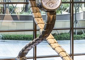 서울 용산 아스테리움의 보베 클락 타워, A' 디자인 어워드 수상