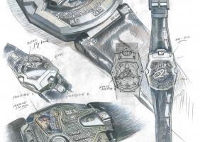시계의 진정한 진화....Urwerk UR-210...