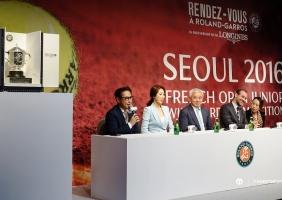 론진 랑데뷰 롤랑가로스 처음으로 한국에서 개최되다!