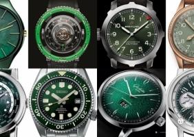 [WATCH IT] 올해의 핫 컬러, '초록초록한' 시계 이야기 1