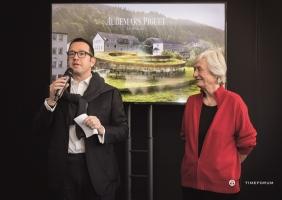 오데마 피게의 새 박물관 '메종 데 퐁다투르' 착공 위한 첫 삽을 뜨다!