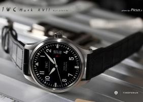 IWC Mark XVII Pilots Watch 리뷰