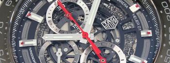 태그호이어 까레라 칼리버 호이어 01 오토매틱 크로노그래프 45mm