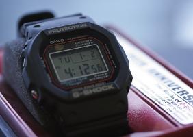 지샥 DW-5000SP-1JP (G-Shock DW-5000SP-1JP) 20주년 한정판