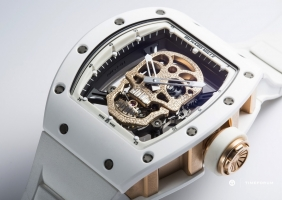 리차드 밀 RM 52-01 투르비용 스컬 아시아 리미티드 에디션