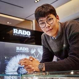 '한국 테니스의 희망' 정현 선수와 라도 시계