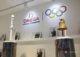 오메가 청담 부티크에서 만나는 올림픽 전시