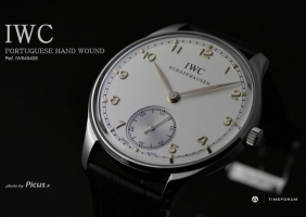 [REVIEW] IWC Portuguese Hand-Wound reference 5454