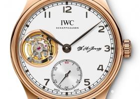 IWC 포르투기저 투르비용 핸드 와인드
